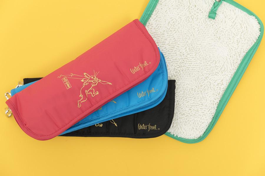 鳥獣戯画傘袋